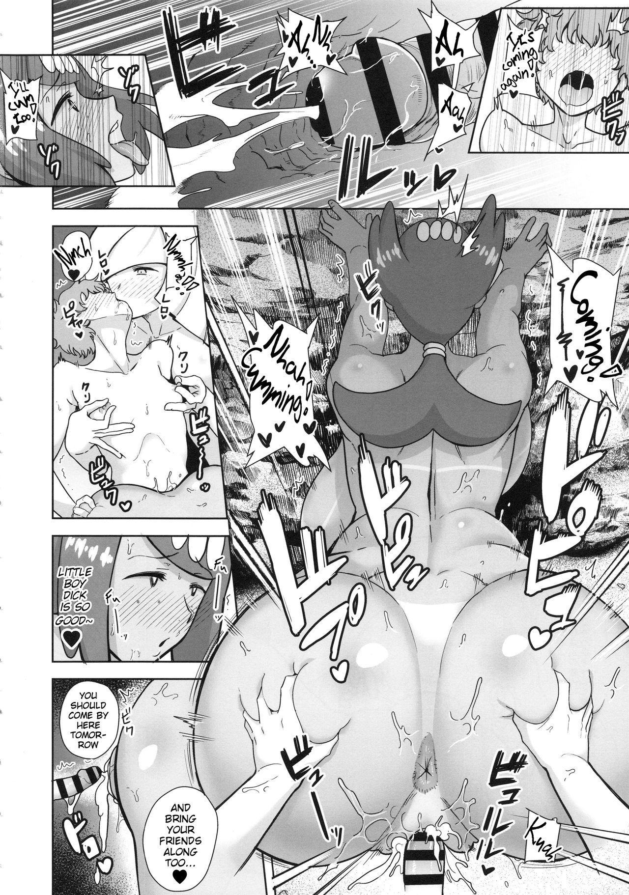 (SC2019 Spring) [DOLL PLAY (Kurosu Gatari)] Alola no Yoru no Sugata 3 (Pokémon Sun and Moon) | The Feeling of Alolan Night 3 [English] [Learn JP With H] 8