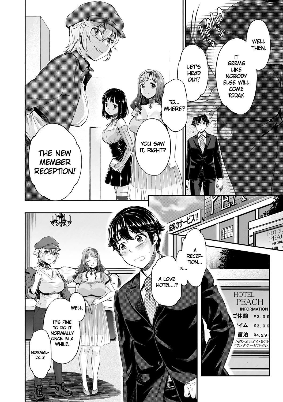 [Umemaru, Mizuryu Kei] Ishoku Bitch to YariCir Seikatsu Ch. 1-4   The Fuck Club's Different Hues of Hoe Ch. 1-4 [English] [1F47B] [Digital] 13