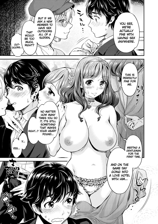 [Umemaru, Mizuryu Kei] Ishoku Bitch to YariCir Seikatsu Ch. 1-4   The Fuck Club's Different Hues of Hoe Ch. 1-4 [English] [1F47B] [Digital] 14