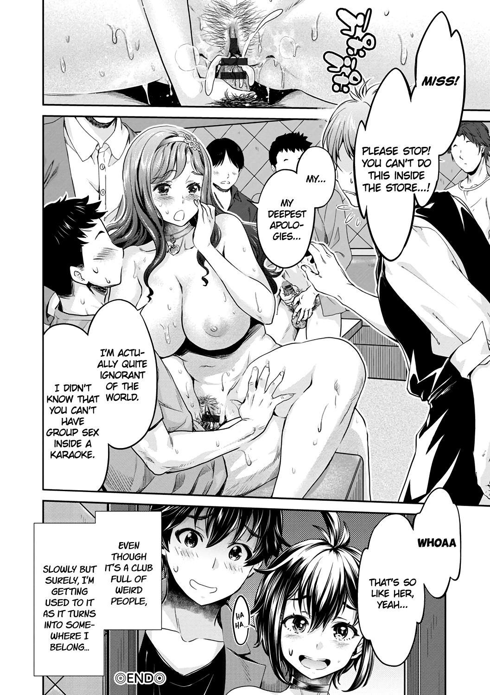 [Umemaru, Mizuryu Kei] Ishoku Bitch to YariCir Seikatsu Ch. 1-4   The Fuck Club's Different Hues of Hoe Ch. 1-4 [English] [1F47B] [Digital] 81