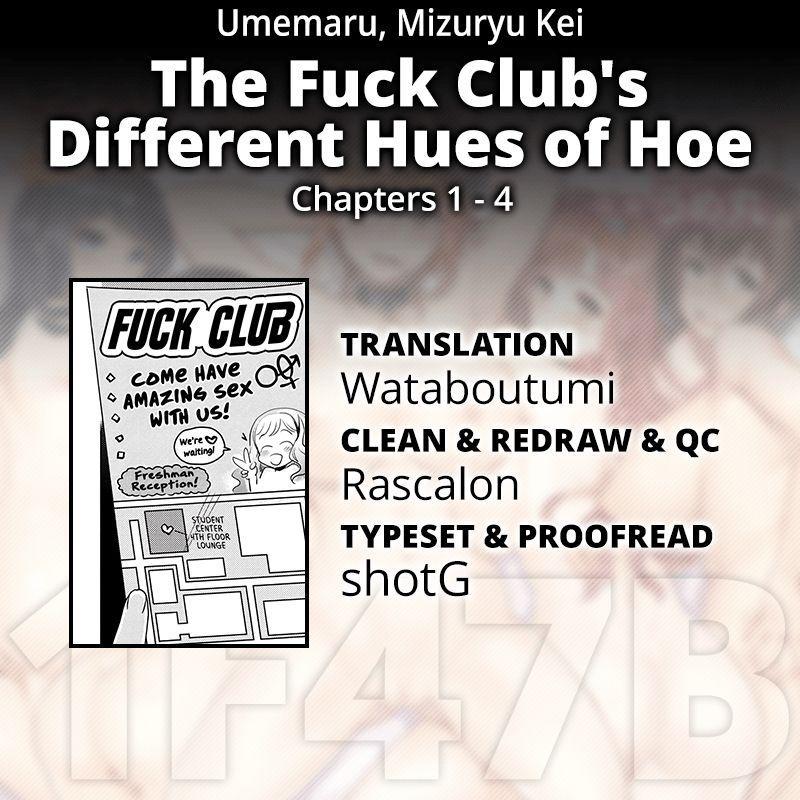 [Umemaru, Mizuryu Kei] Ishoku Bitch to YariCir Seikatsu Ch. 1-4   The Fuck Club's Different Hues of Hoe Ch. 1-4 [English] [1F47B] [Digital] 82