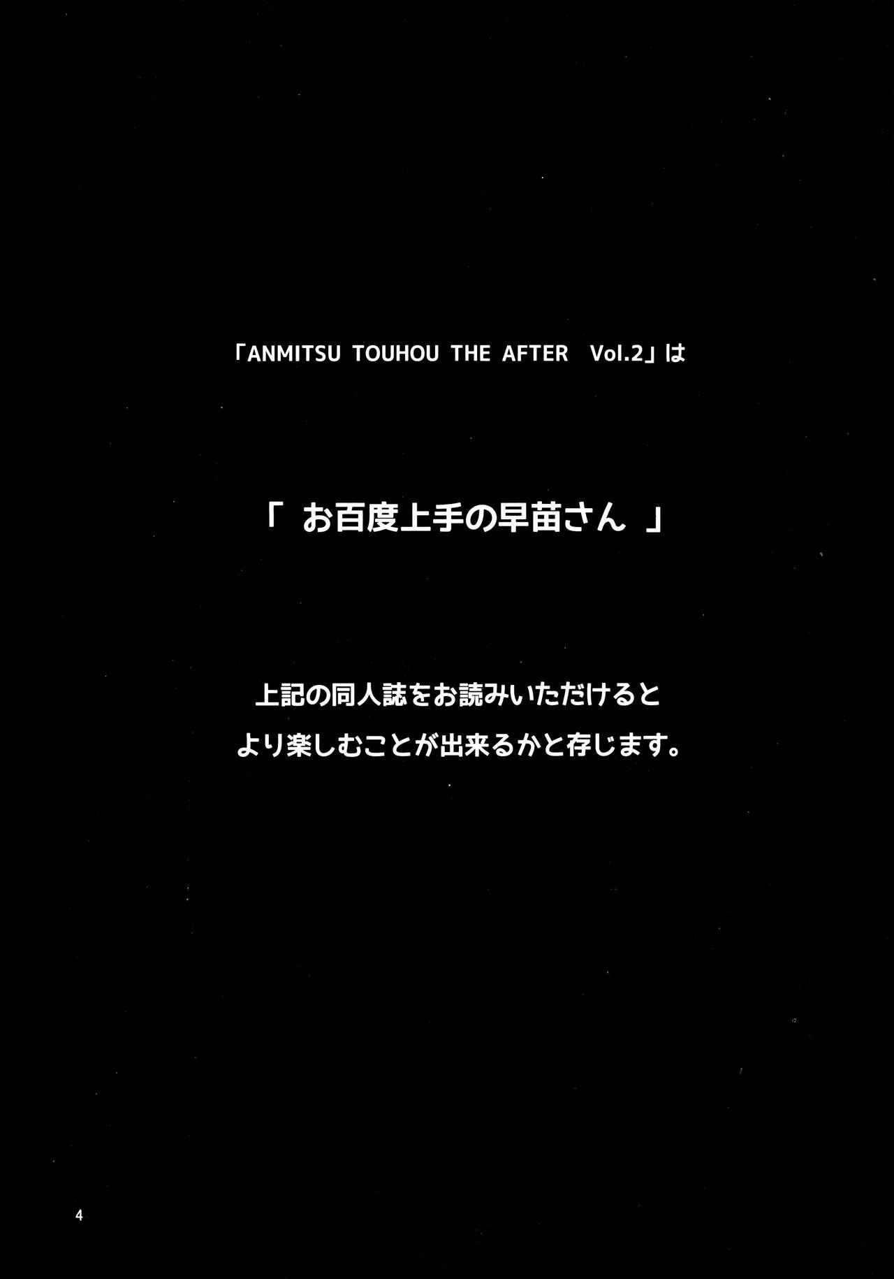 ANMITSU TOUHOU THE AFTER Vol.2 2