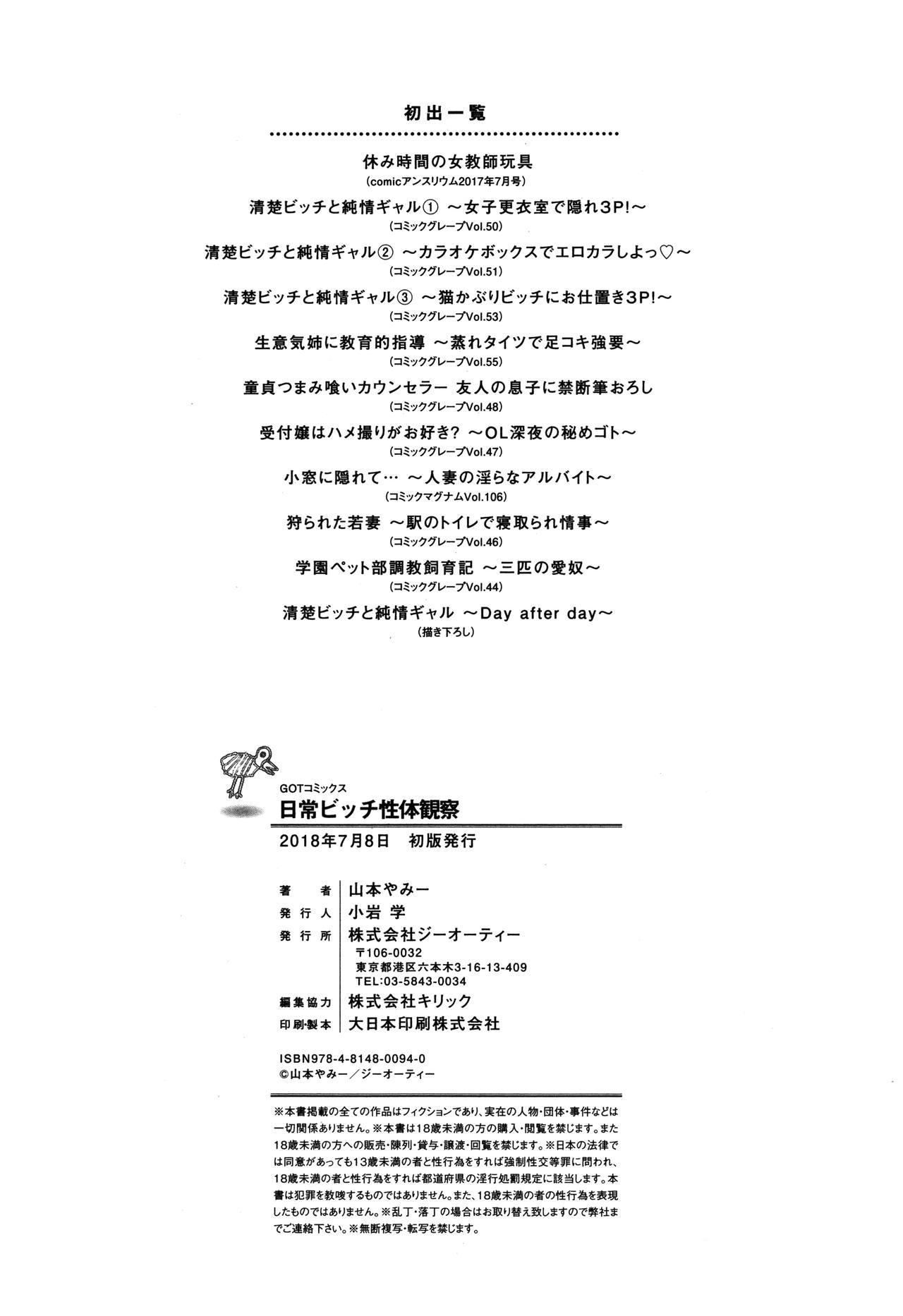 Nichijou Bitch Seitai Kansatsu 228