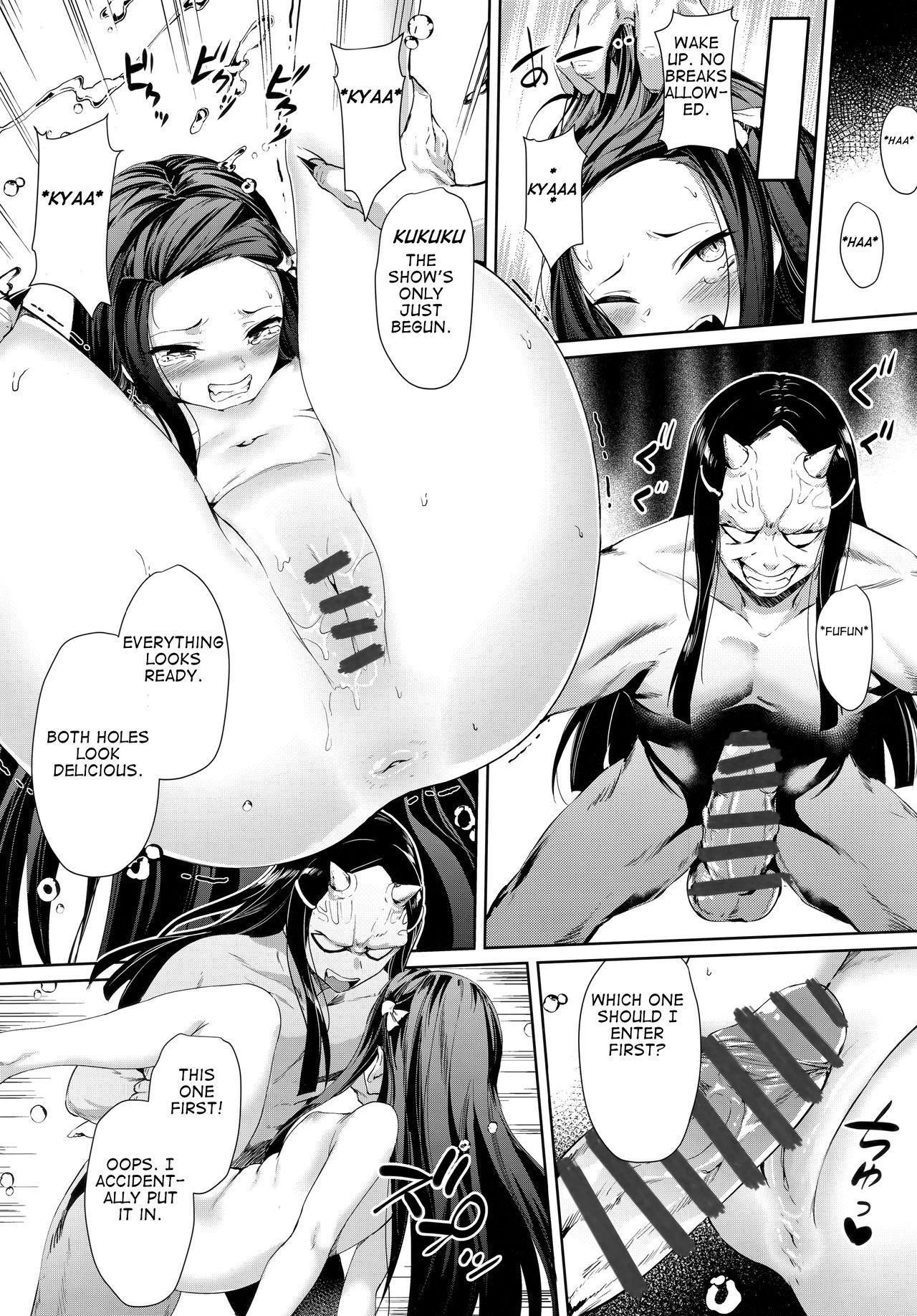Moshi Nezuko ga Warui Hito ni Tsukamattara... 10