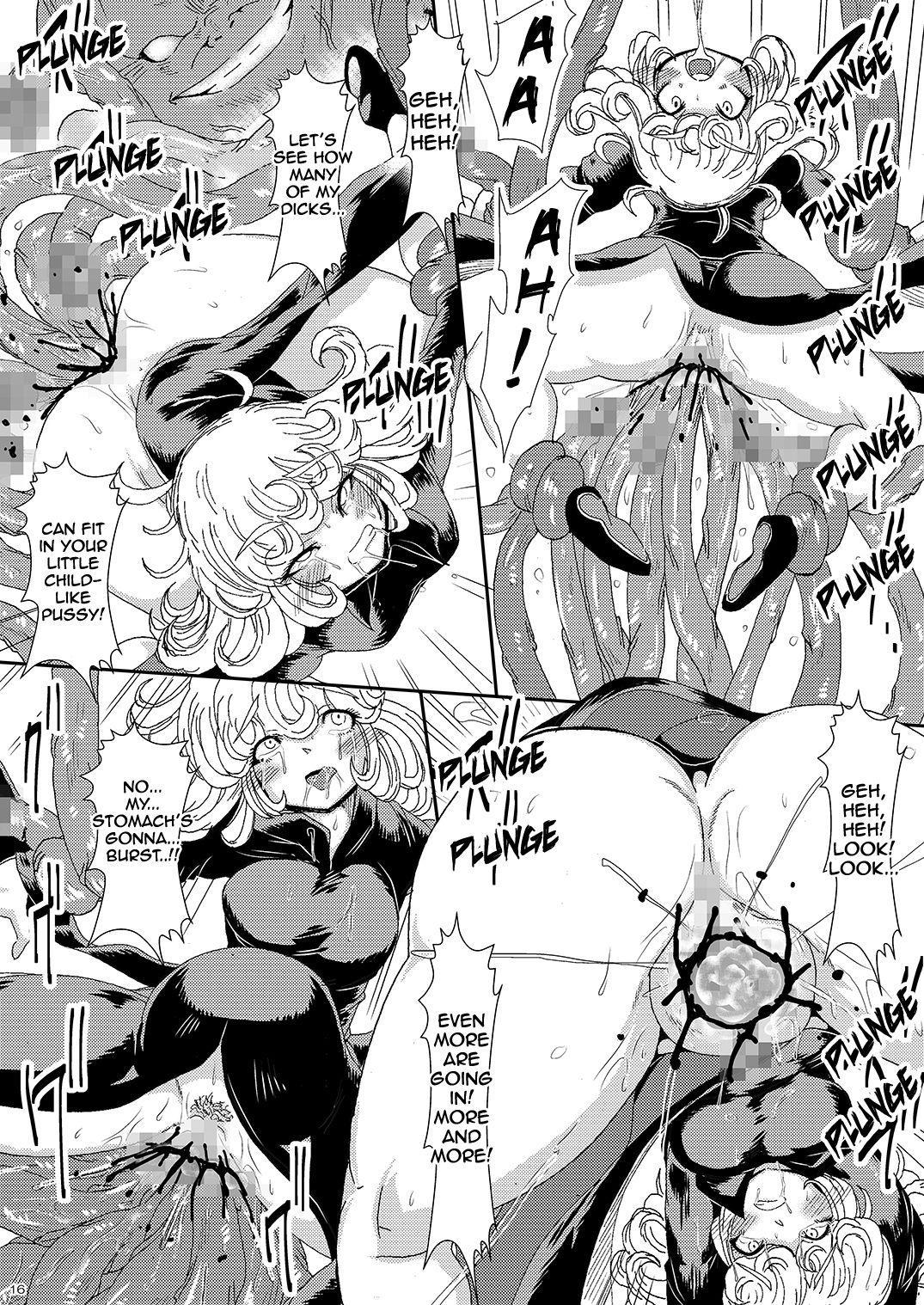 [Yuzuponz (Sakokichi)] IN RAN-WOMEN Kairaku ni Ochiru Shimai   Nympho-Women Sisters Falling into Ecstasy (One Punch Man) [English] [Jashinslayer] [Digital] 14