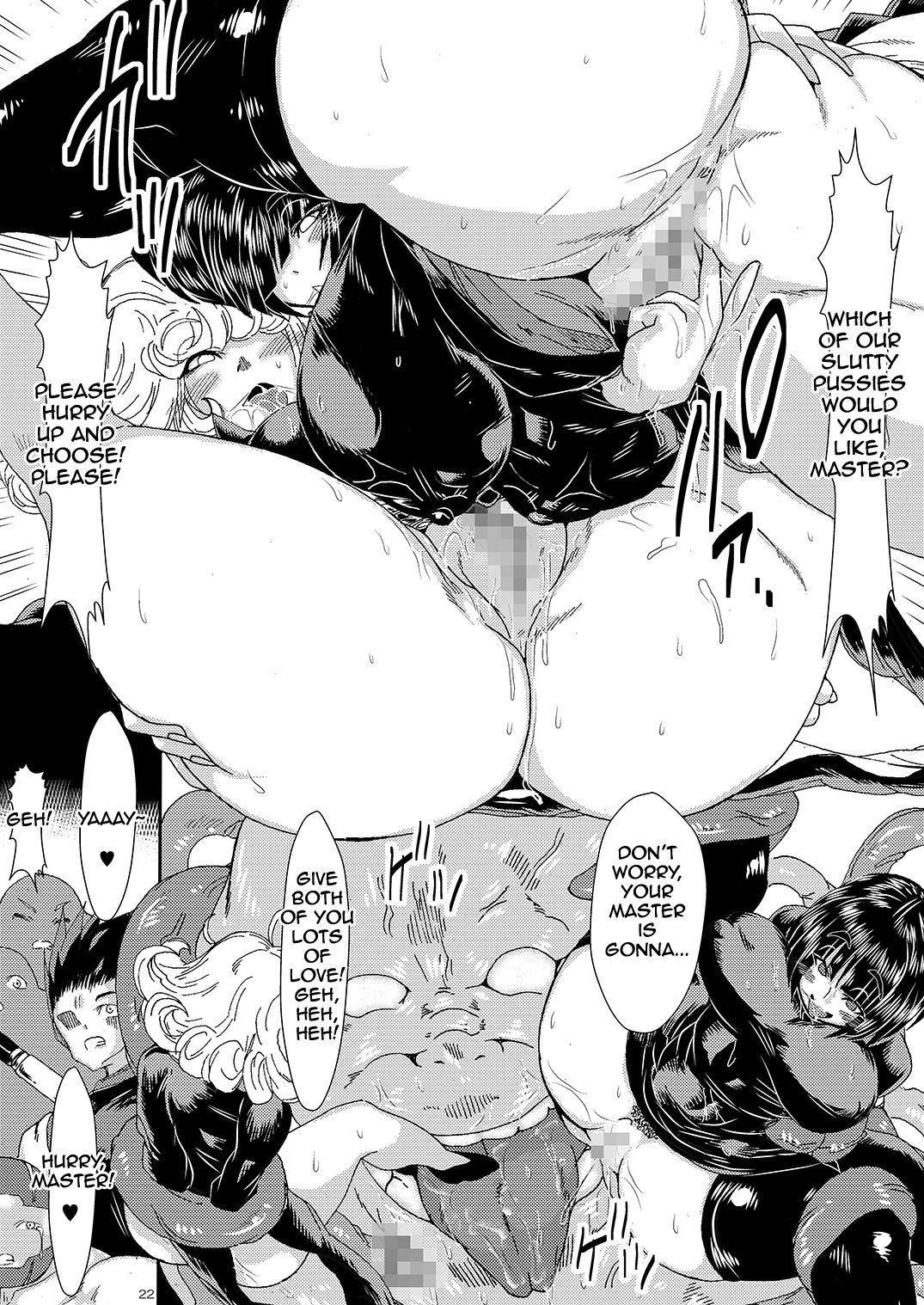 [Yuzuponz (Sakokichi)] IN RAN-WOMEN Kairaku ni Ochiru Shimai   Nympho-Women Sisters Falling into Ecstasy (One Punch Man) [English] [Jashinslayer] [Digital] 20