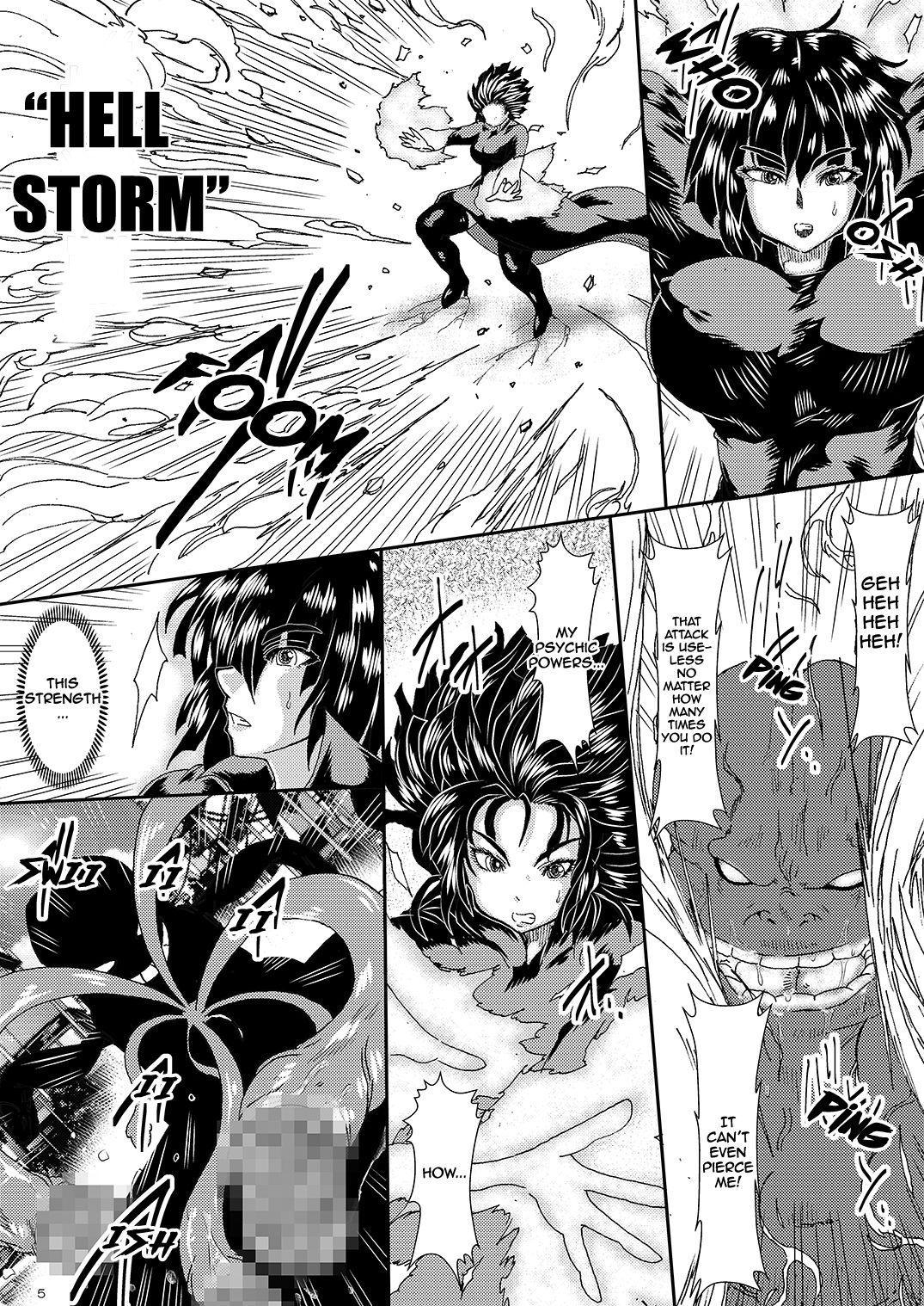 [Yuzuponz (Sakokichi)] IN RAN-WOMEN Kairaku ni Ochiru Shimai   Nympho-Women Sisters Falling into Ecstasy (One Punch Man) [English] [Jashinslayer] [Digital] 3