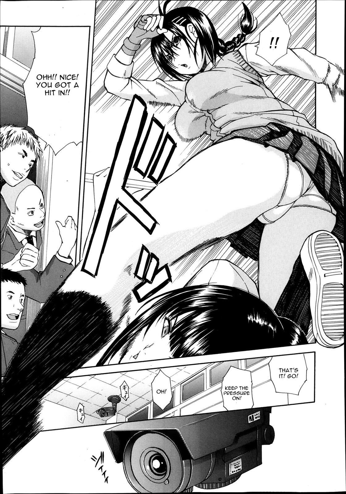 [Chiyou Yoyuchi] Rinkan Gakuen ~Haibokusha-tachi wa Midaremau~   Gang Rape School: The Losers Dance Indecently [English] 41