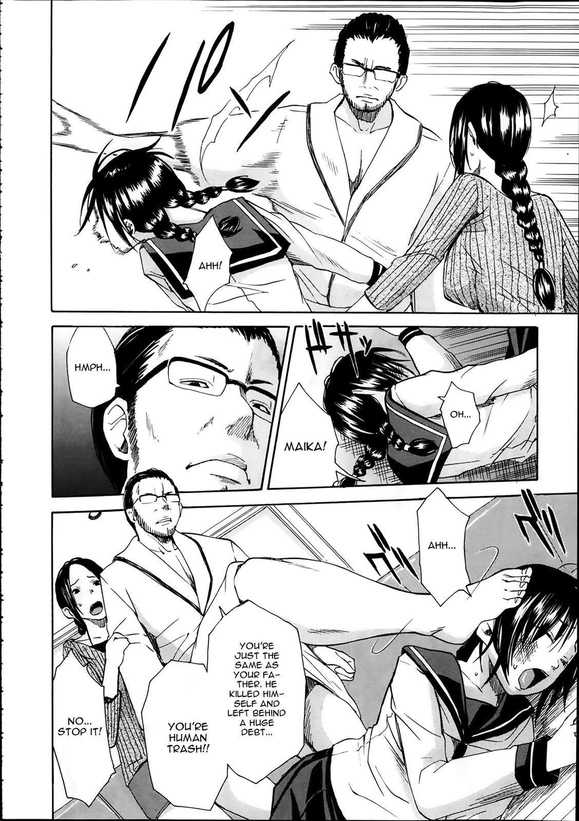[Chiyou Yoyuchi] Rinkan Gakuen ~Haibokusha-tachi wa Midaremau~   Gang Rape School: The Losers Dance Indecently [English] 68