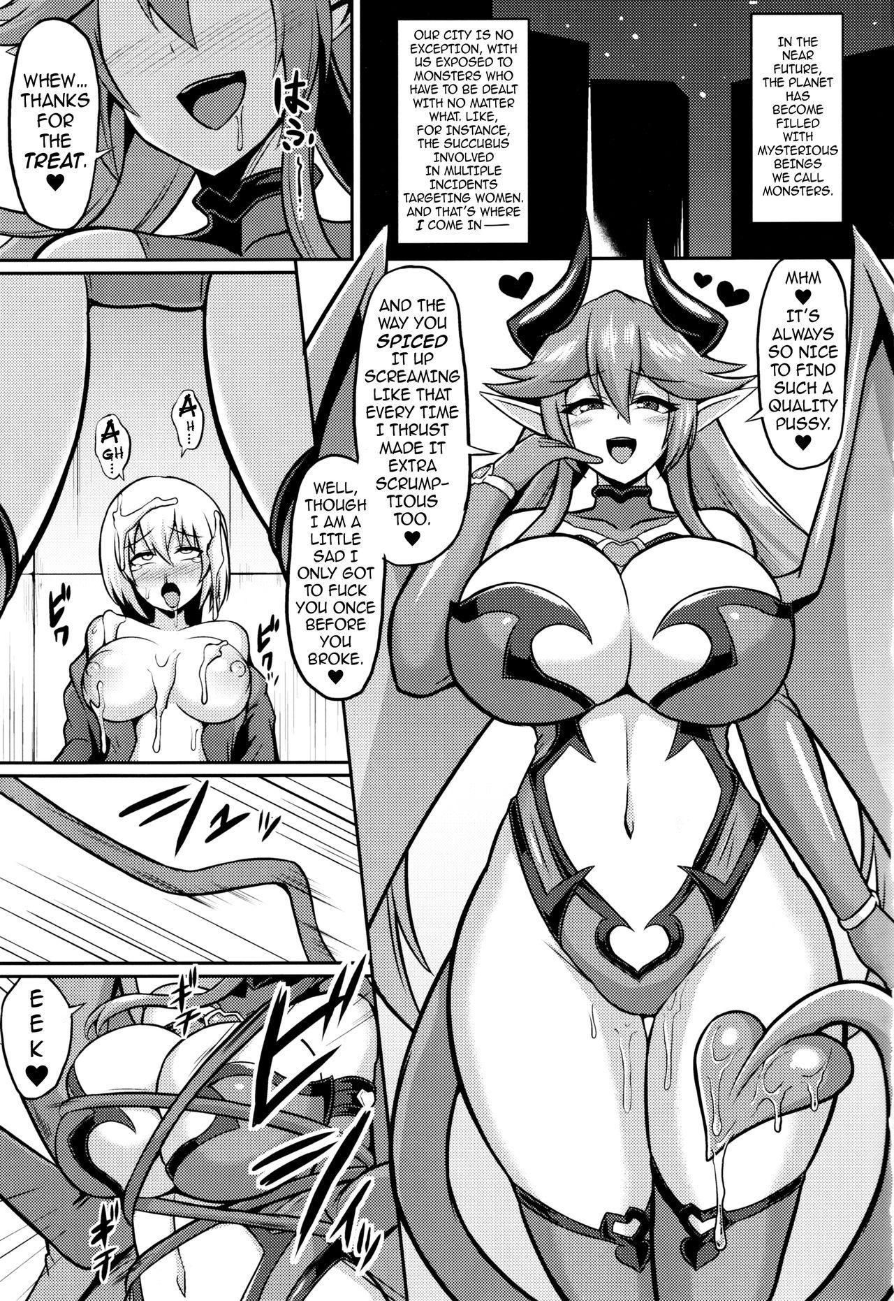 Les Inma no Inmon Kairaku Choukyou 2   A Lesbian Succubus's Lust Crest Pleasure Training 2 1