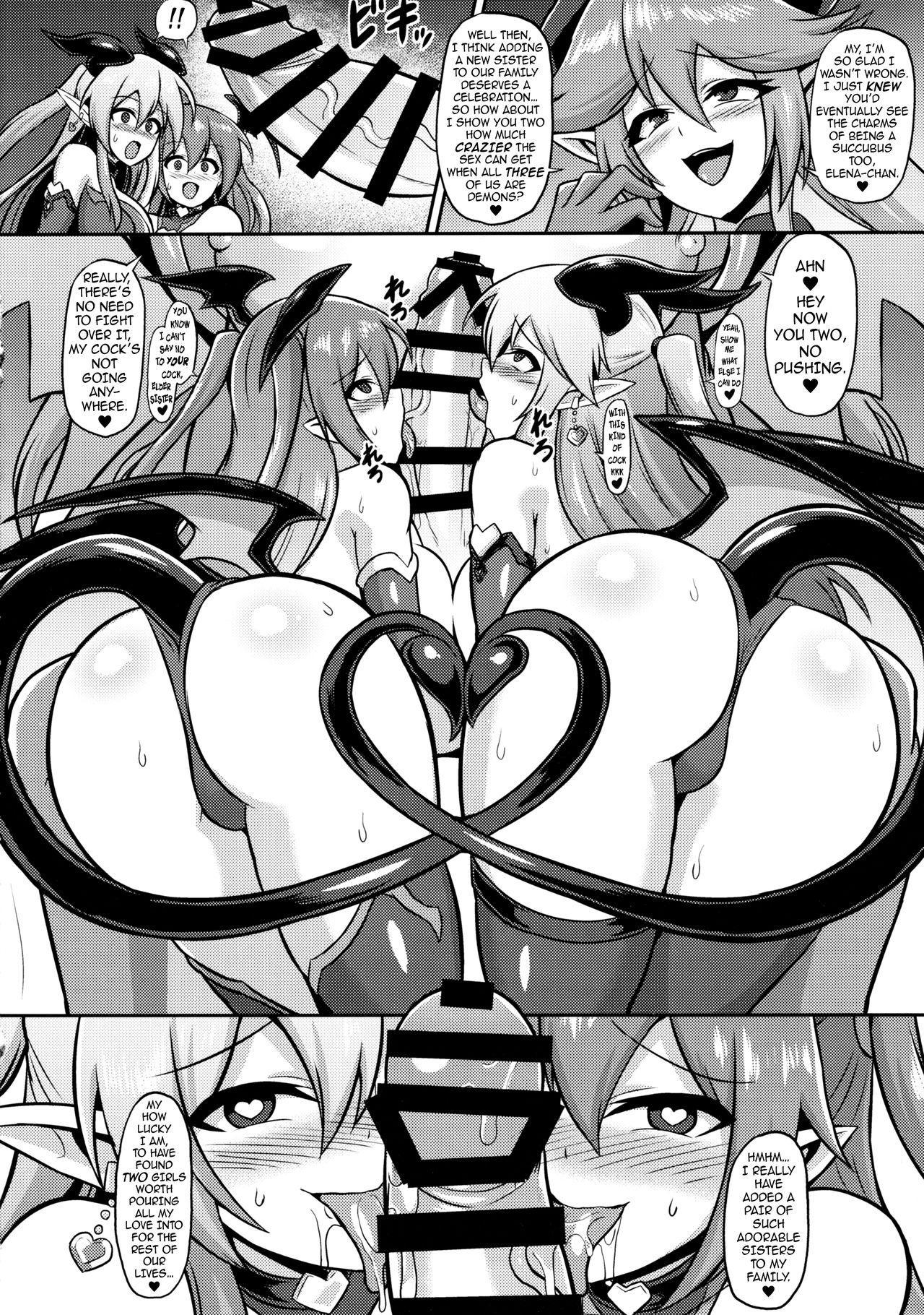 Les Inma no Inmon Kairaku Choukyou 2   A Lesbian Succubus's Lust Crest Pleasure Training 2 20