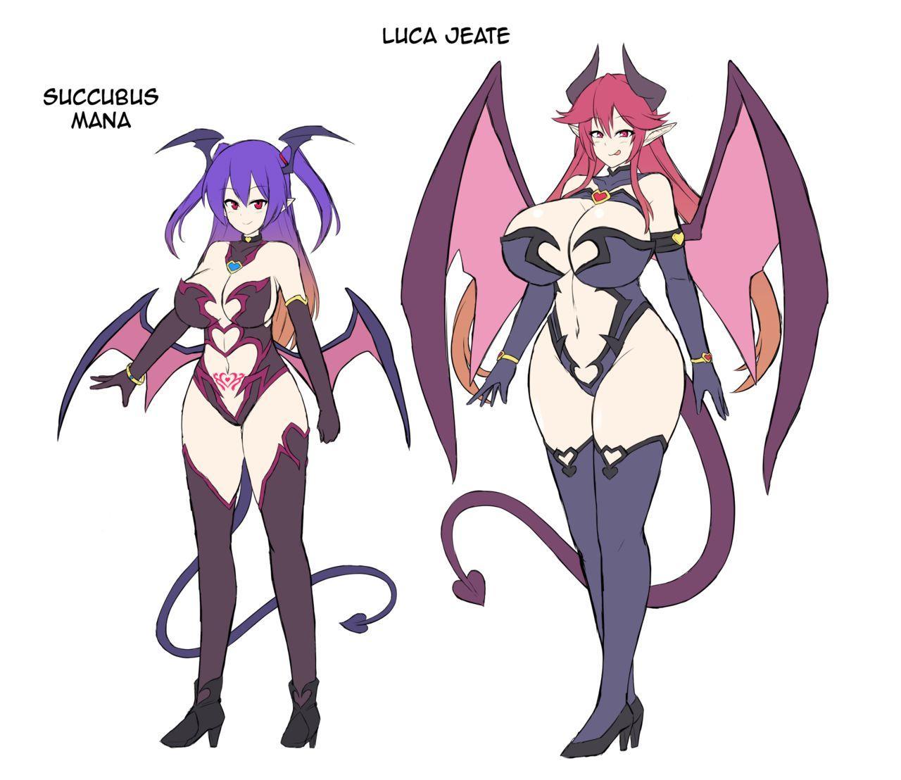 Les Inma no Inmon Kairaku Choukyou 2   A Lesbian Succubus's Lust Crest Pleasure Training 2 28