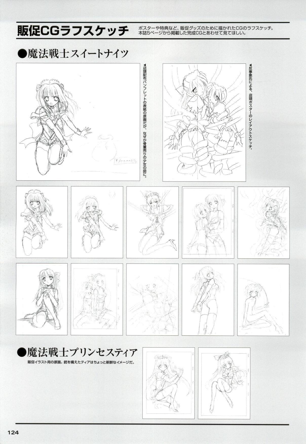Mahou Senshi Sweet Knight & Mahou Senshi Princess Tear 123