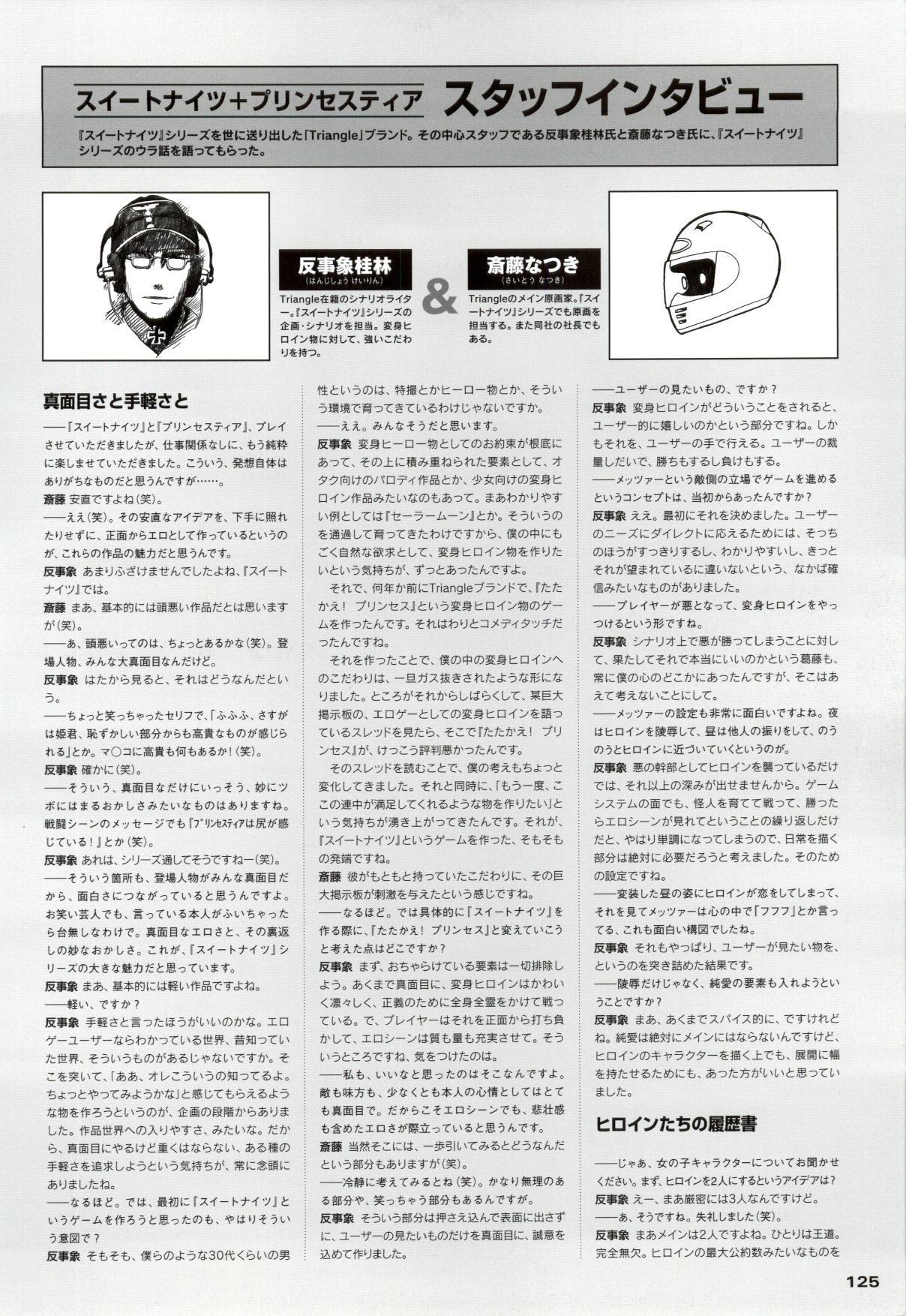 Mahou Senshi Sweet Knight & Mahou Senshi Princess Tear 124