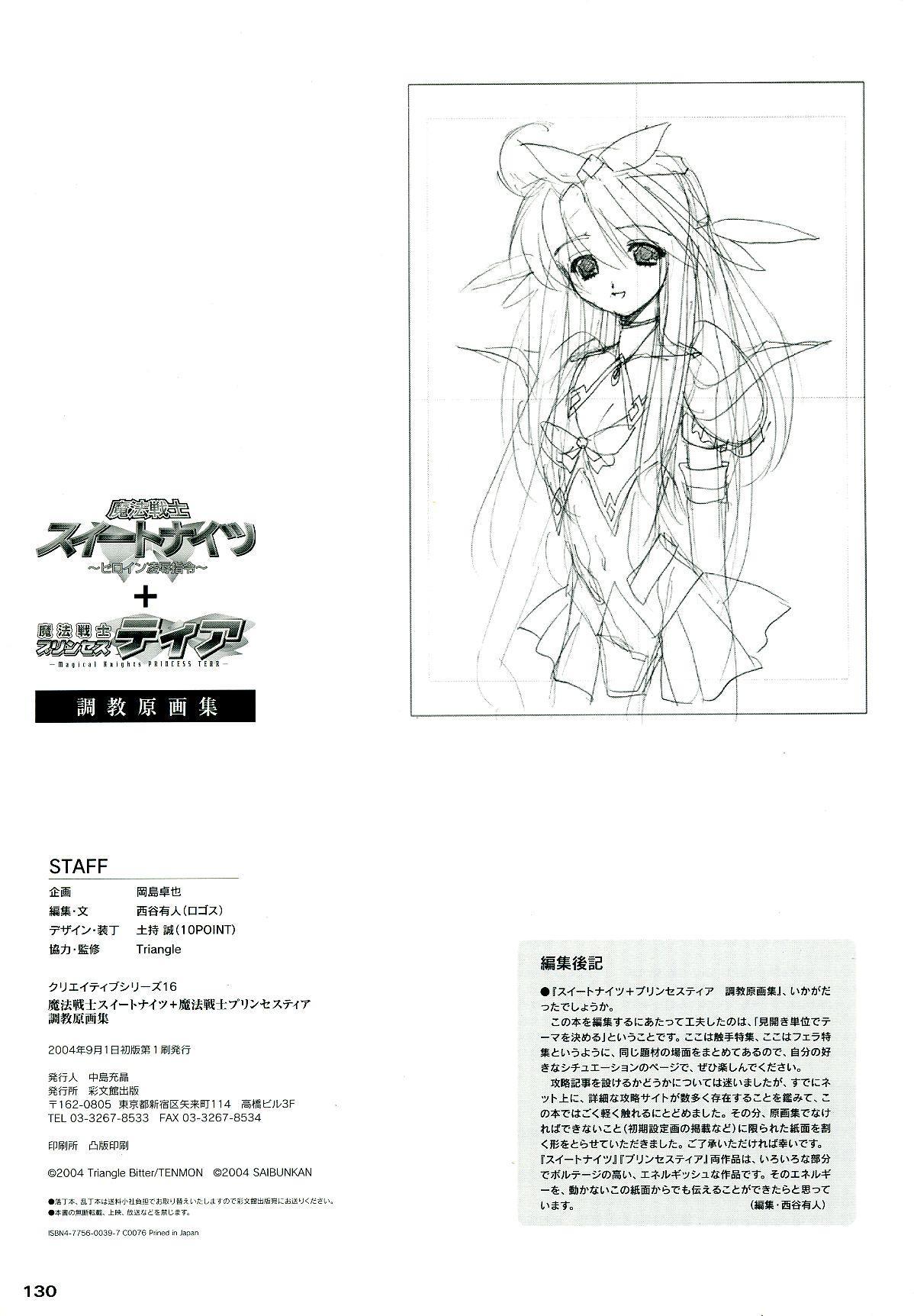 Mahou Senshi Sweet Knight & Mahou Senshi Princess Tear 129