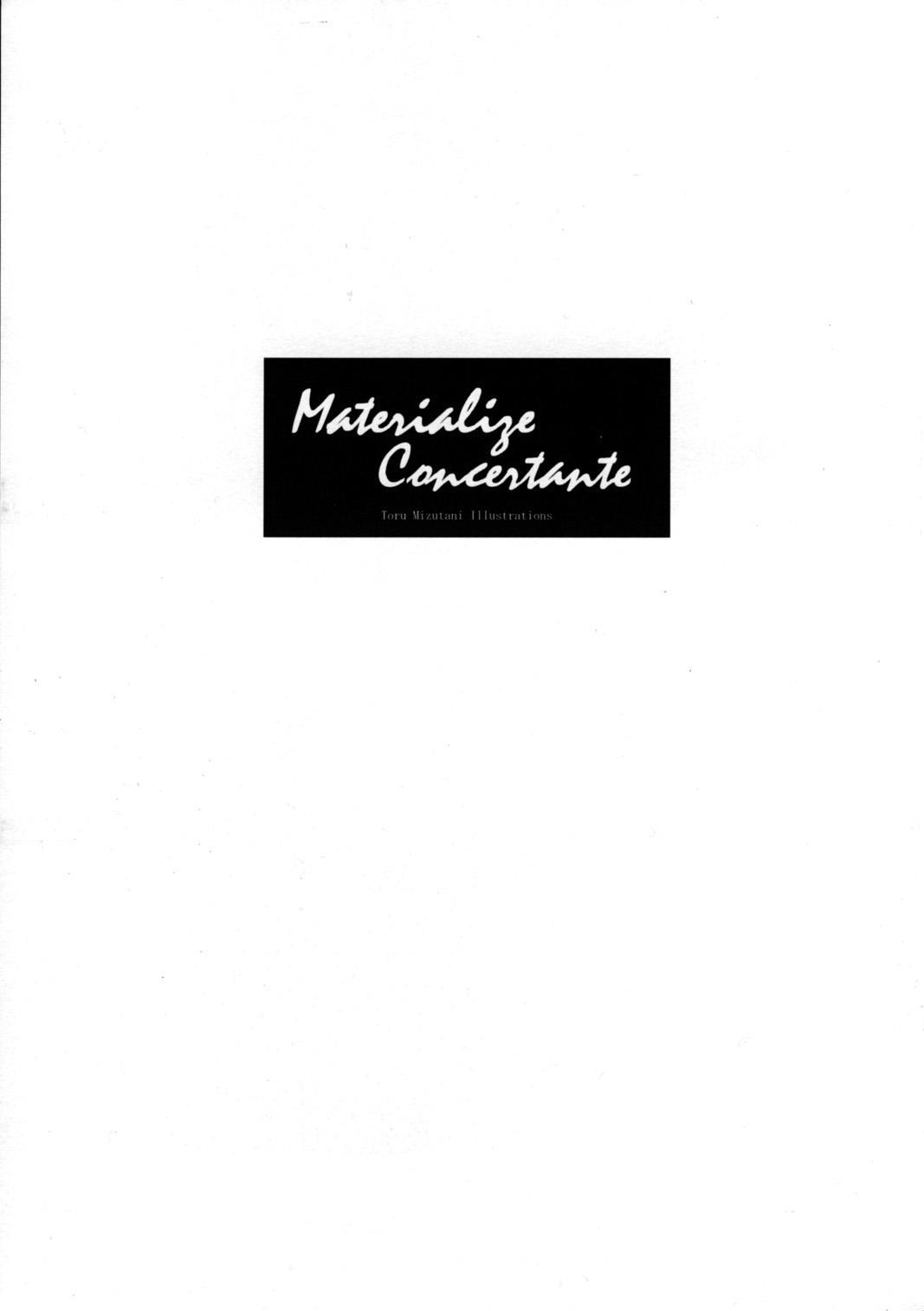 Materialize Concertante 2