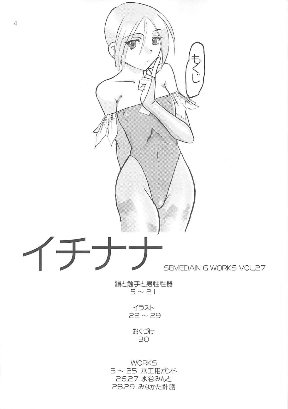 Semedain G Works Vol. 28 - Ichinana 2