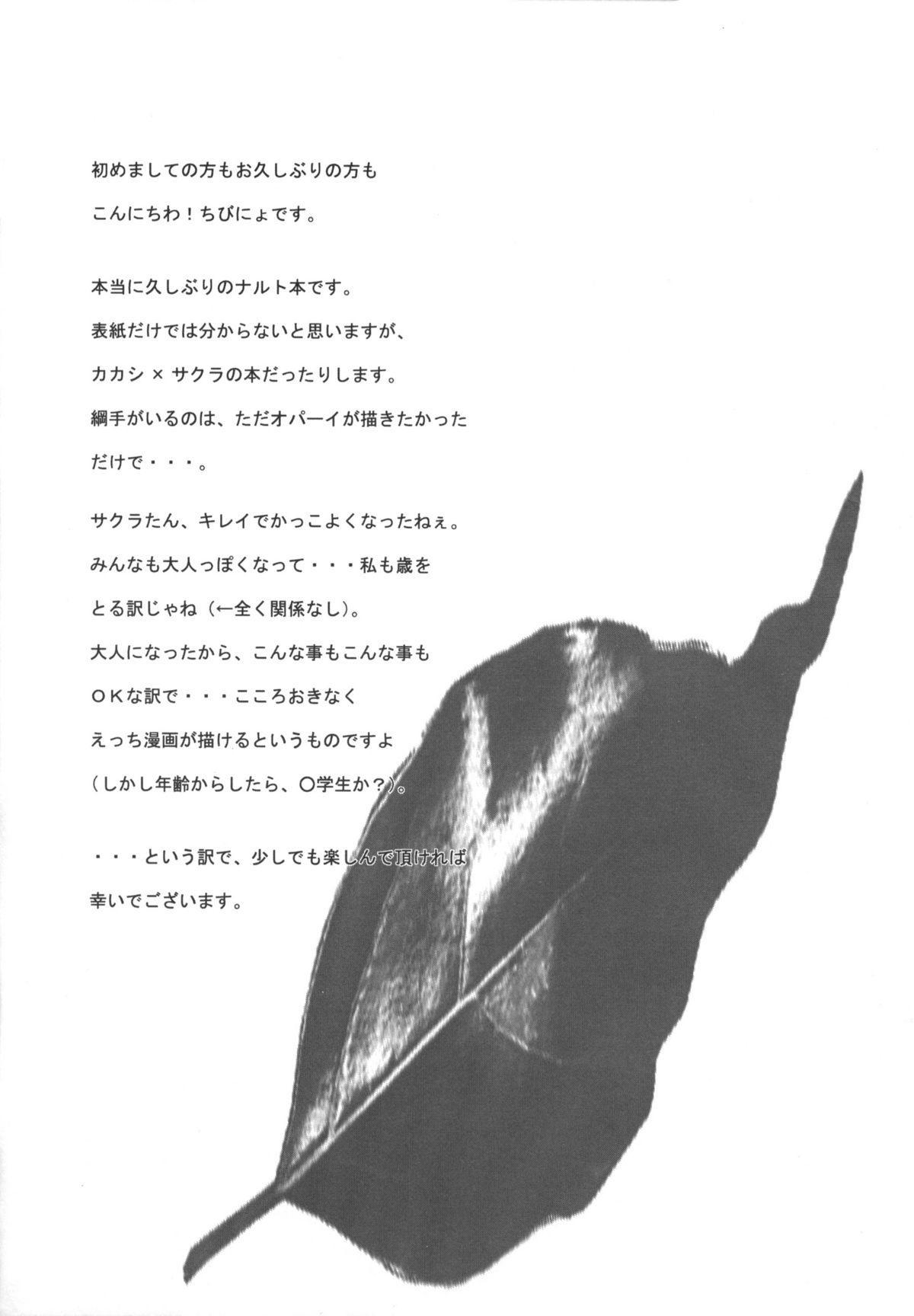 (C70) [HAMUSTAR (Chibinyo)] Hamu-juu -San- (Naruto) 2
