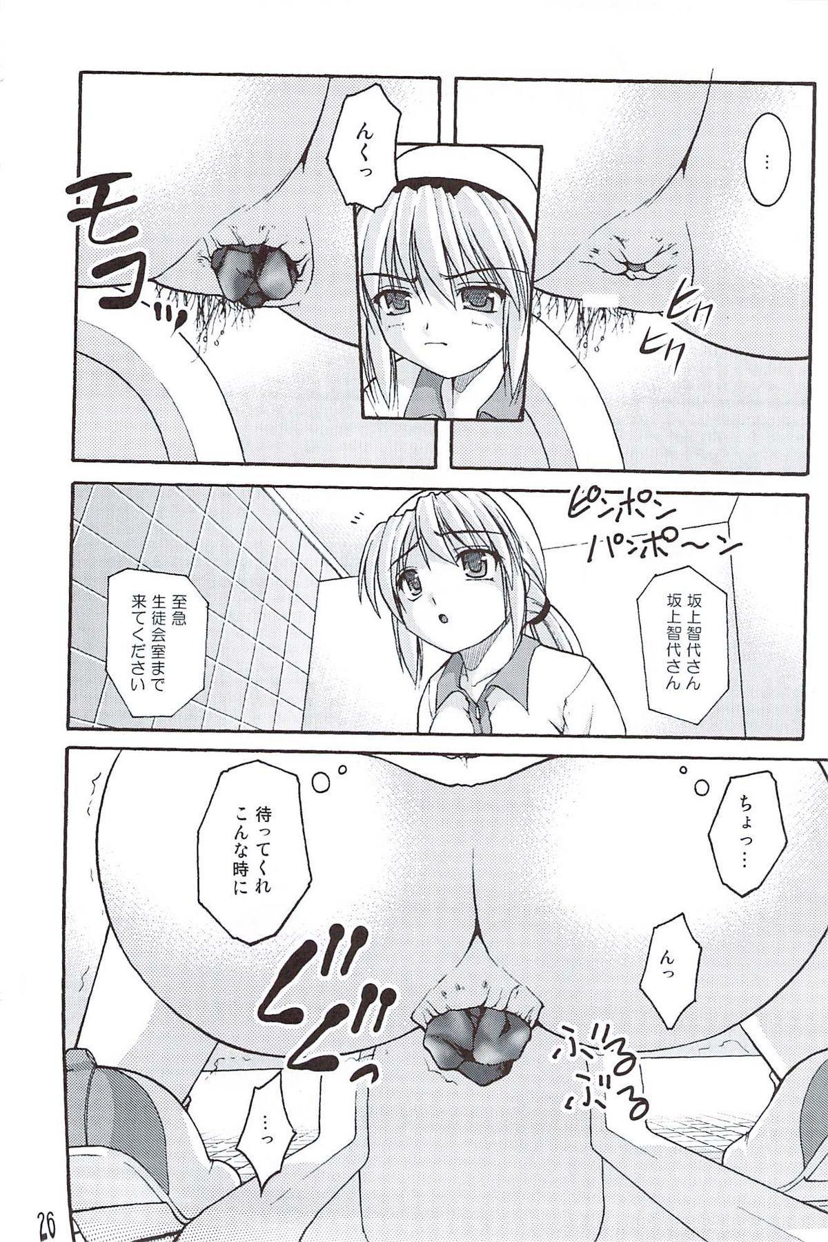 Bou Yuumei Koukou Joshi Toilet Tousatsu 2-jigen Bishoujo Hen Vol. 4 24