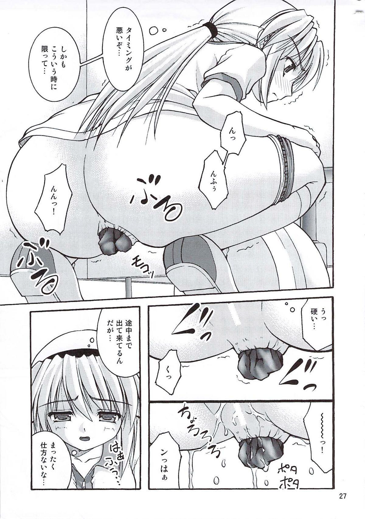 Bou Yuumei Koukou Joshi Toilet Tousatsu 2-jigen Bishoujo Hen Vol. 4 25
