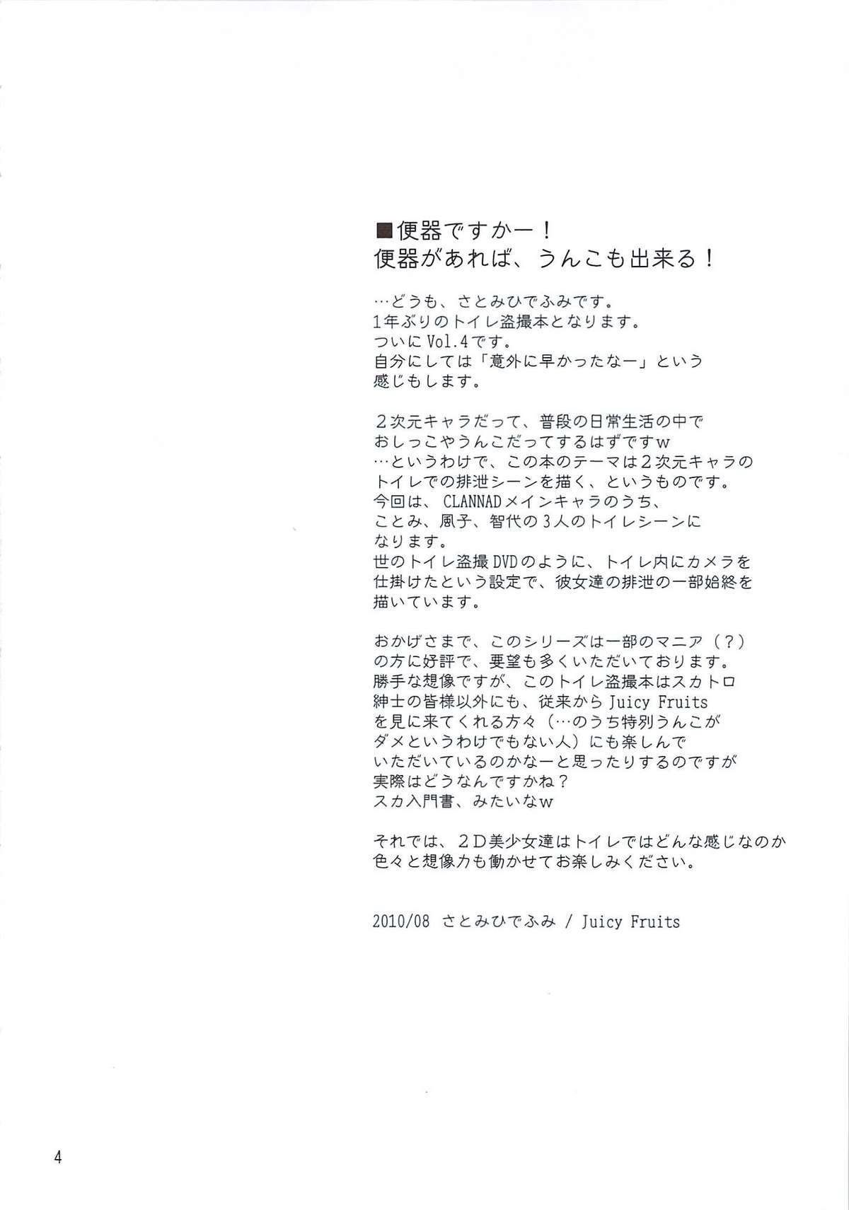 Bou Yuumei Koukou Joshi Toilet Tousatsu 2-jigen Bishoujo Hen Vol. 4 2