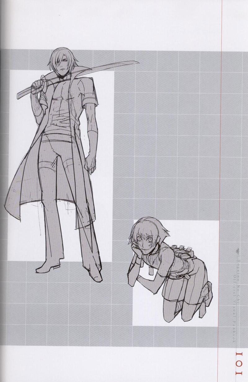 Togainu no chi -  Official Visual Fan Book 101