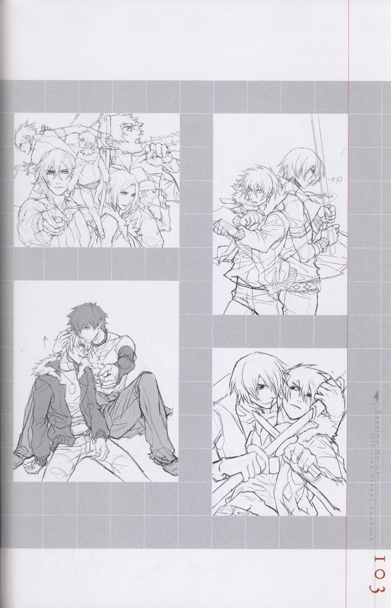 Togainu no chi -  Official Visual Fan Book 103