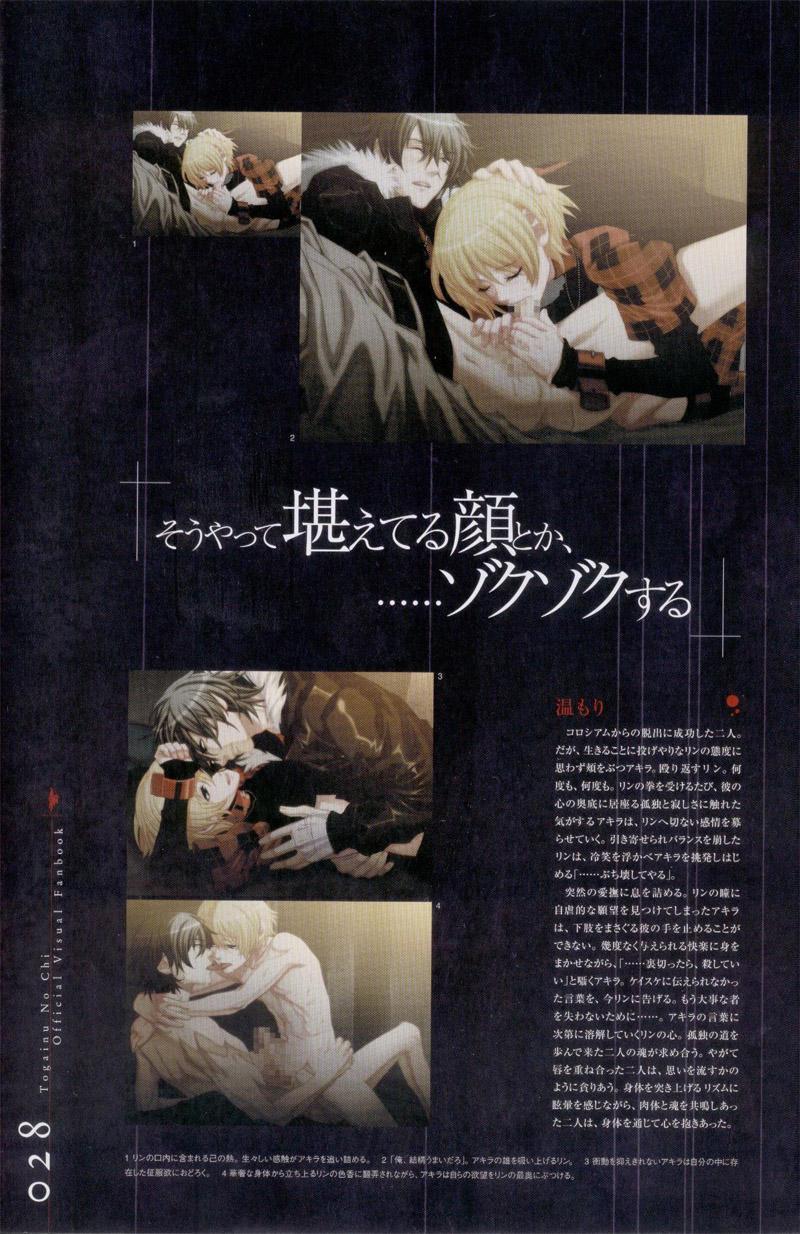 Togainu no chi -  Official Visual Fan Book 28