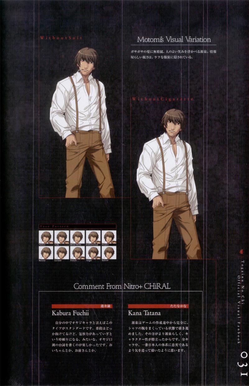 Togainu no chi -  Official Visual Fan Book 31