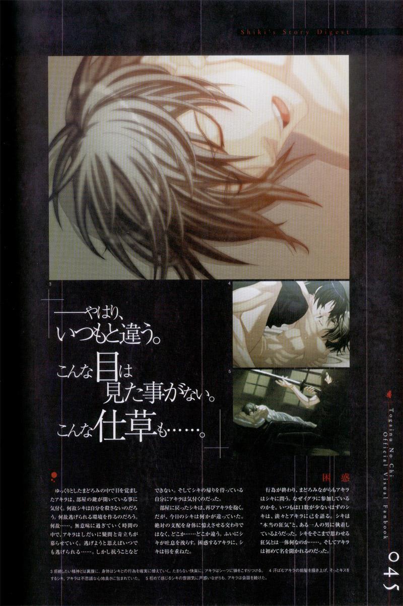 Togainu no chi -  Official Visual Fan Book 45