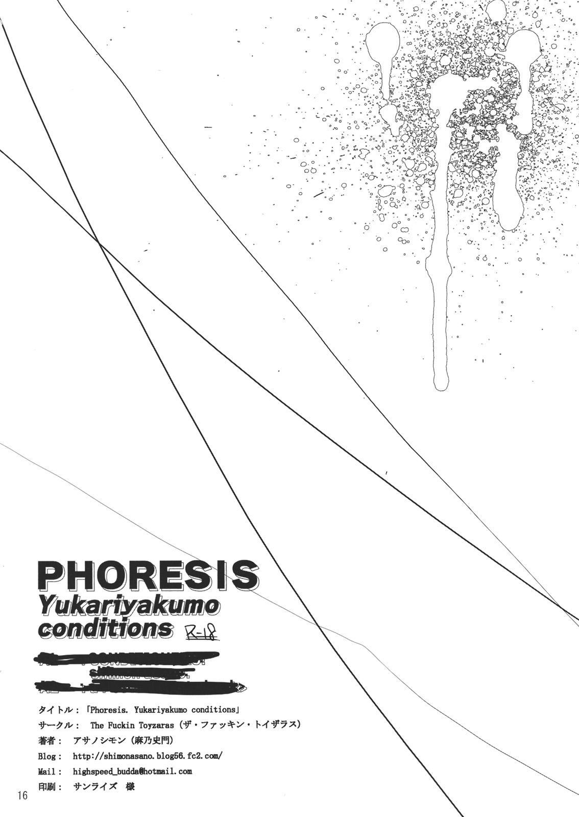 PHORESIS Yukariyakumo conditions 17