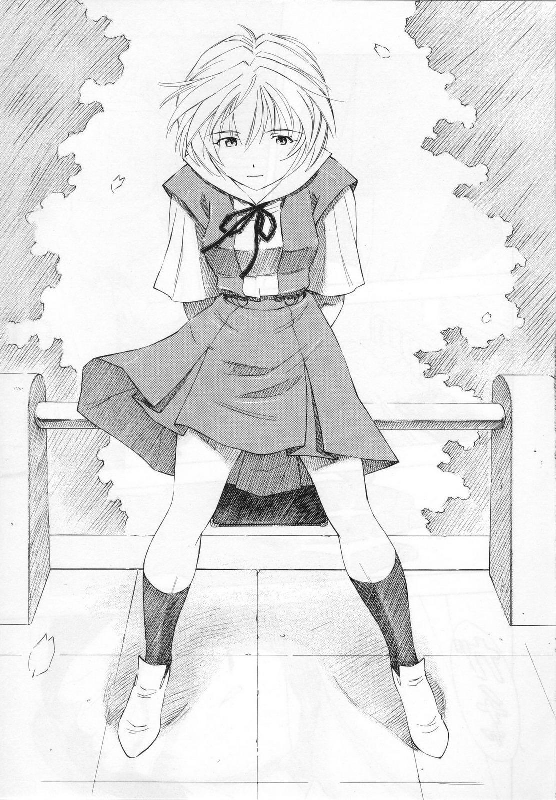 (COMIC1☆5) [Studio Wallaby (Kura Oh)]  Ayanami - Asa Hiru Yoru - Shin (Neon Genesis Evangelion) 27
