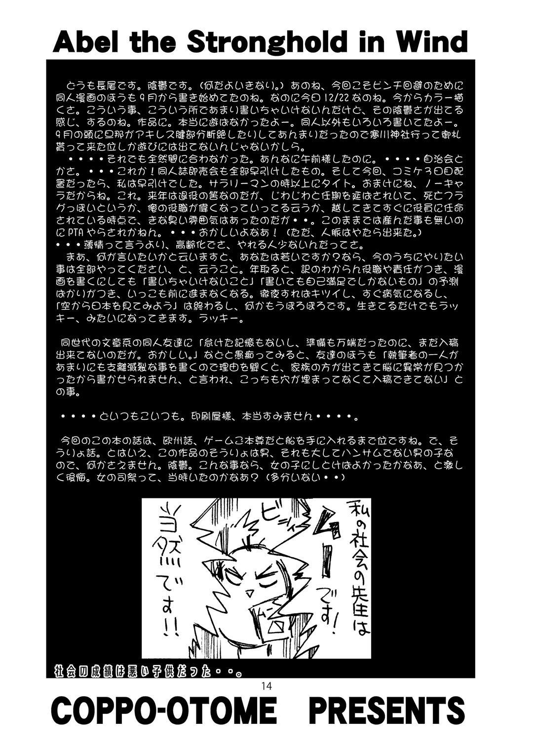 Kaze no Toride Abel Nyoma Kenshi to Pelican Otoko 12