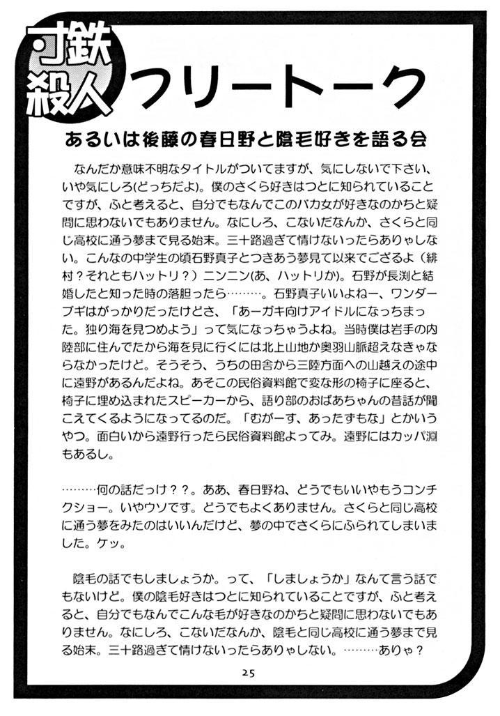Suntetsu Satsujin 23