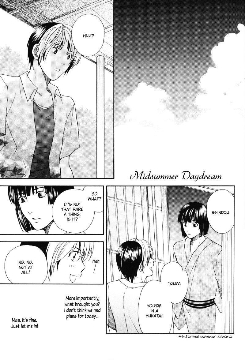 [Shiki (Hatomile)] Fall in Summer (Hikaru no Go) [English] [Arigatomina] YAOI 1