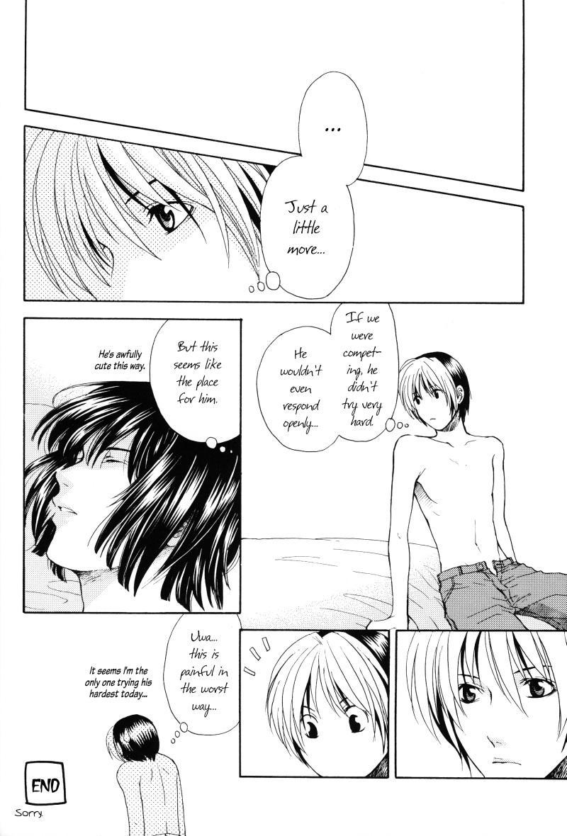 [Shiki (Hatomile)] Fall in Summer (Hikaru no Go) [English] [Arigatomina] YAOI 26