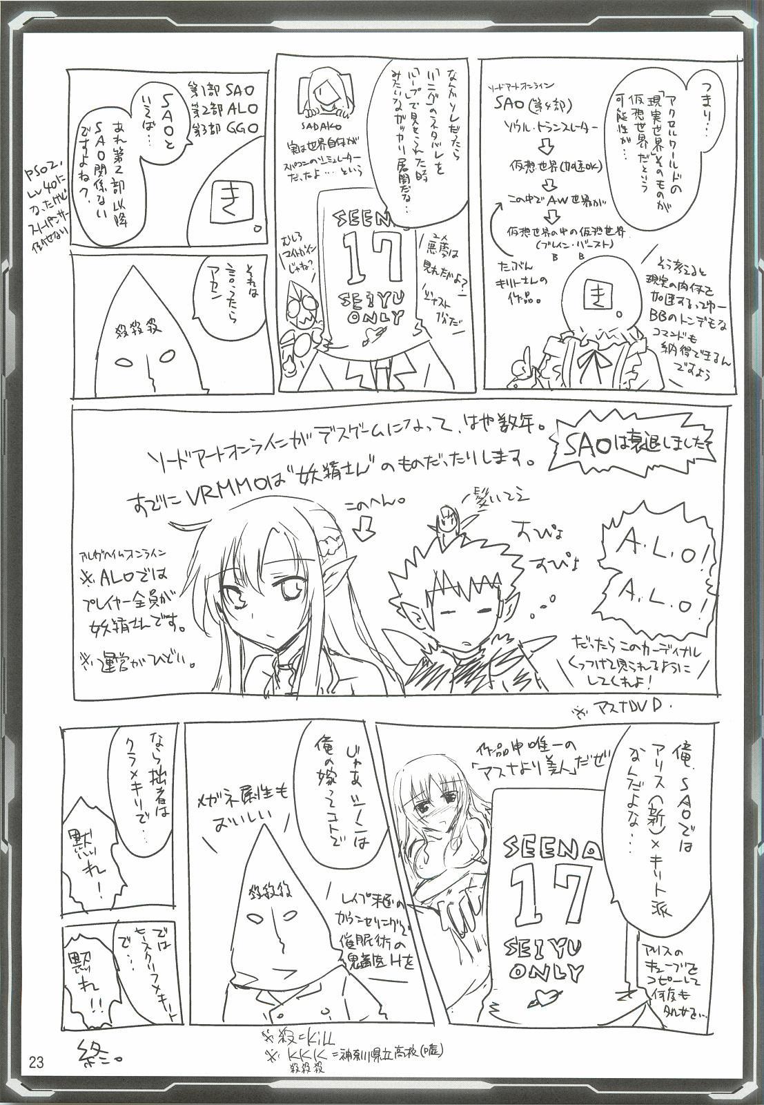 Silica Asuna Offline Analyzation 21