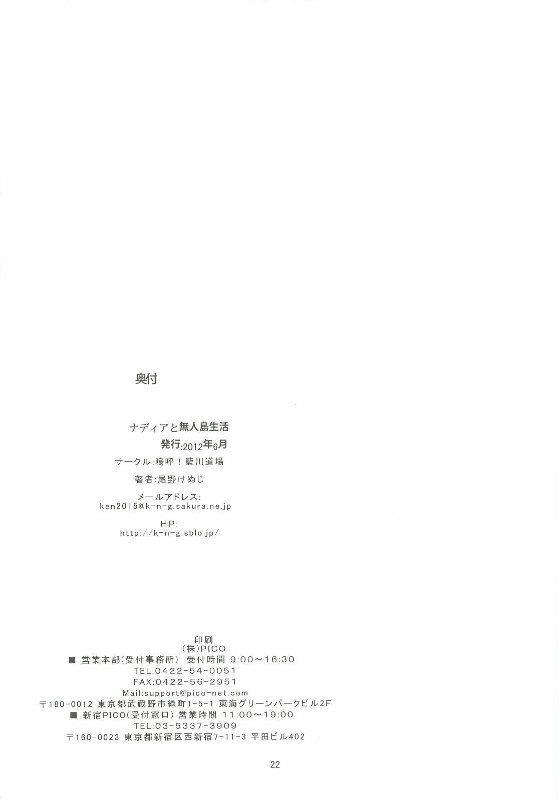 Nadia to Mujintou Seikatsu 20