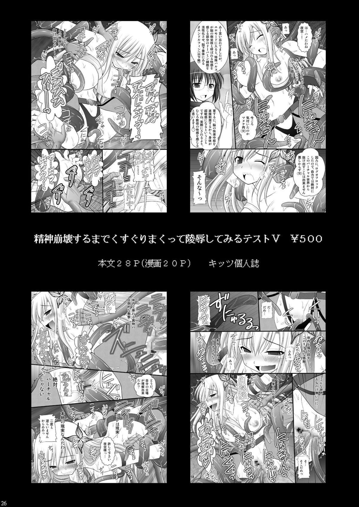 Toraware Hime I - System Master Nyaa Sakarae nee 24