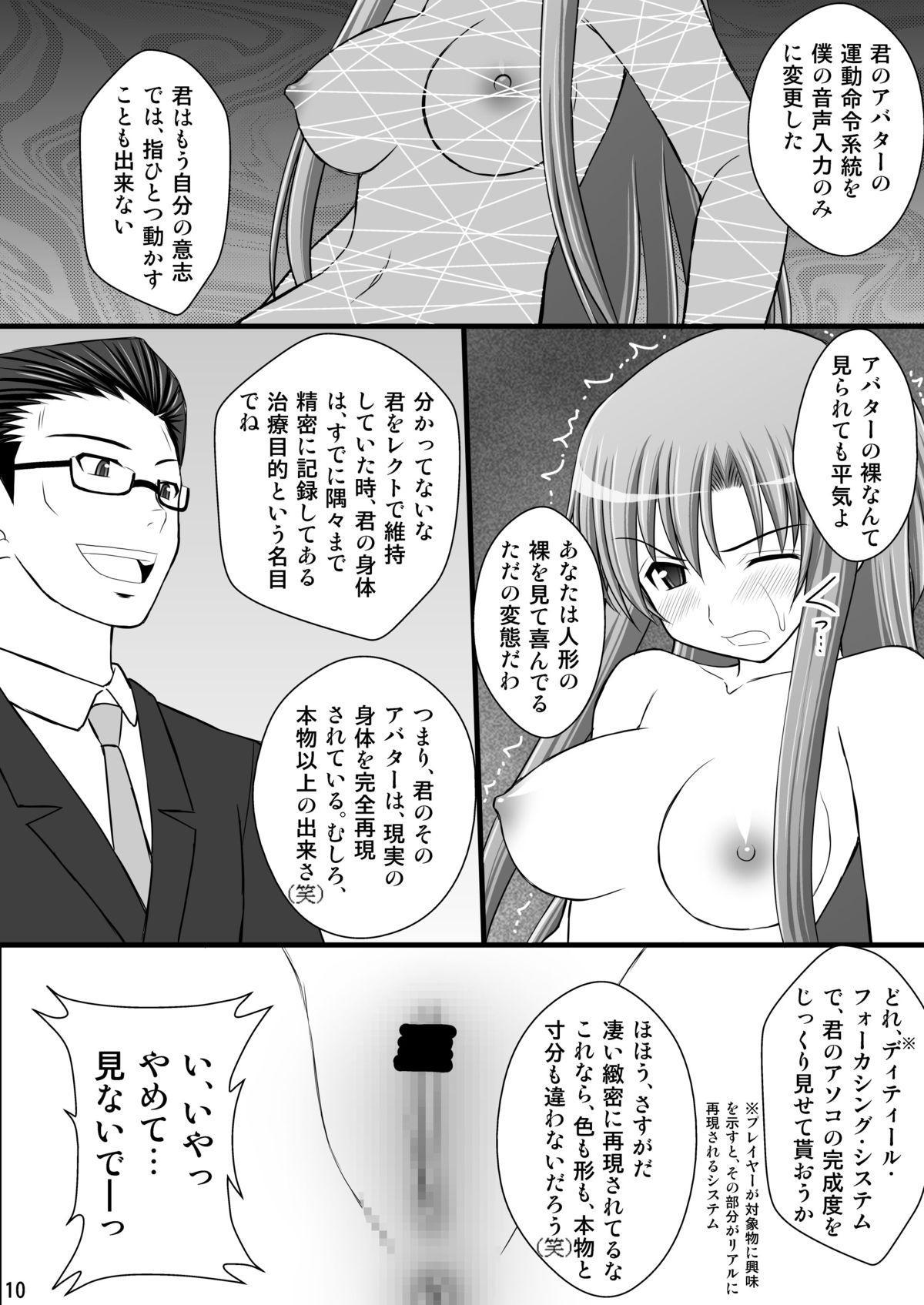 Toraware Hime I - System Master Nyaa Sakarae nee 8