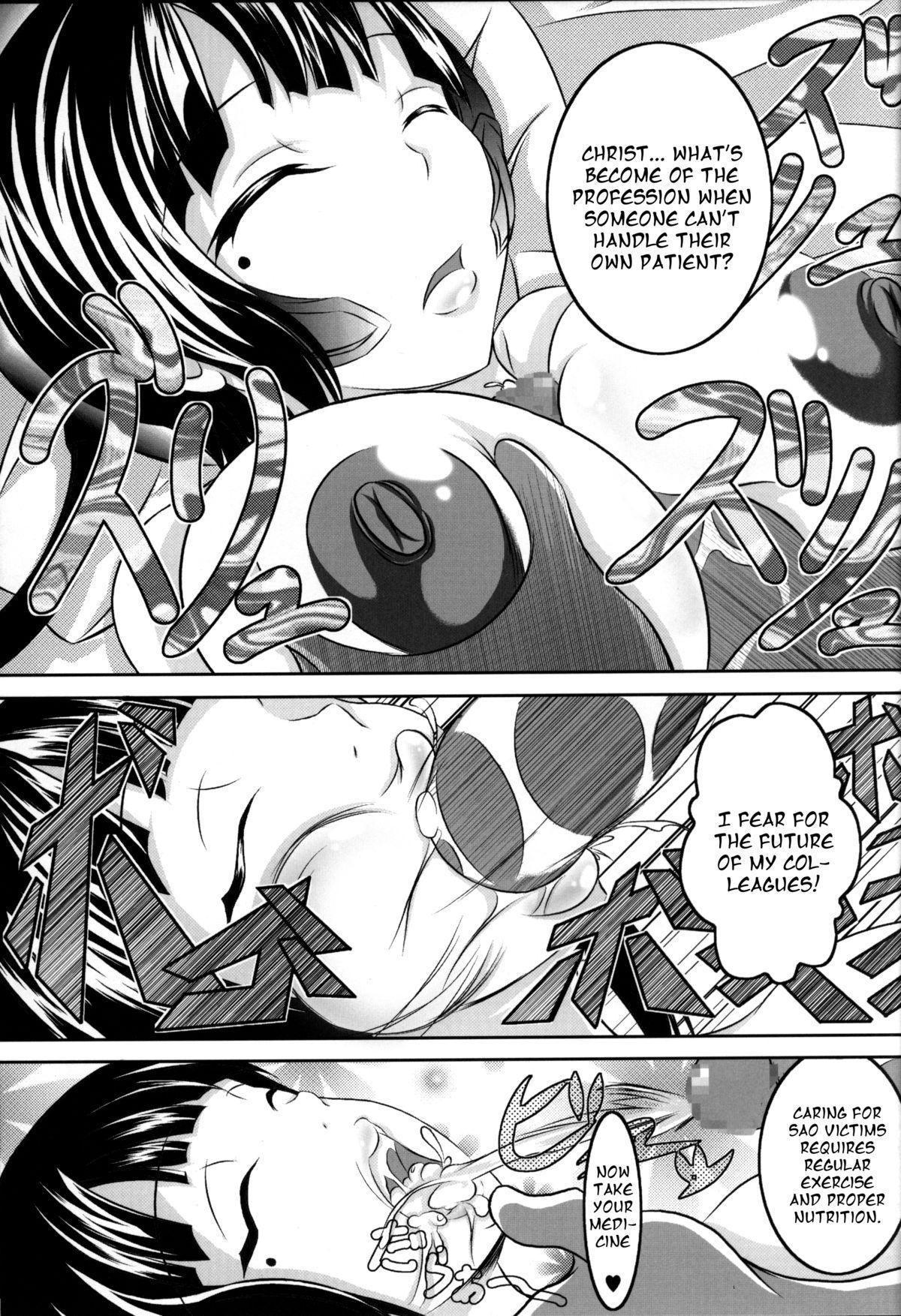 Irakabeshi Sugite Atama ga Okashiku Natta Hito ga Kangaeta SAO-hon | A SAO Book Drawn by a Man Driven Insane by Bashing his Head Against a Wall 12