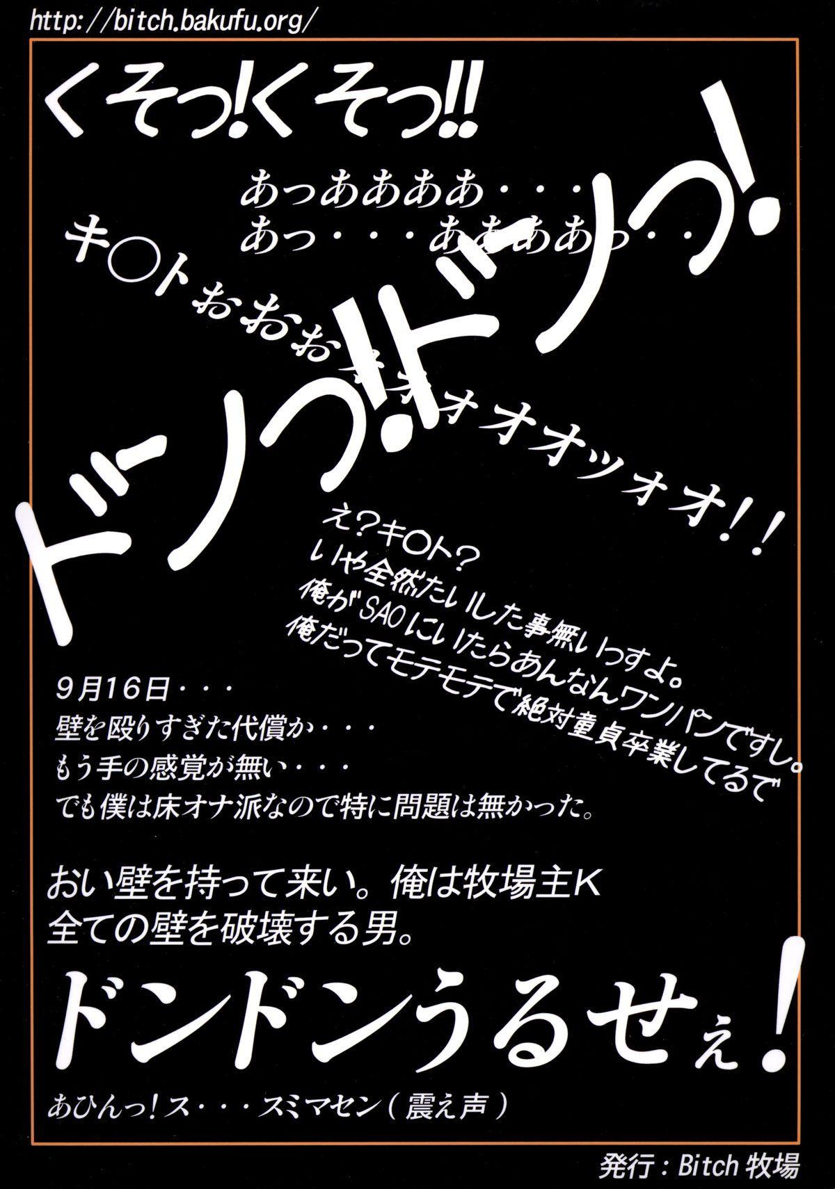 Irakabeshi Sugite Atama ga Okashiku Natta Hito ga Kangaeta SAO-hon | A SAO Book Drawn by a Man Driven Insane by Bashing his Head Against a Wall 19